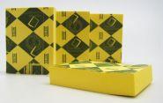 Стикер 38х51мм, желтые. арт. PO-025