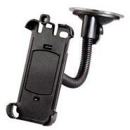 Держатель Hama для Apple iPhone 4/4S автомобильный гибкий черный (H-108115)