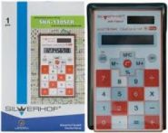 Калькулятор карманный SILWERHOF SCHOOL SHA-130SCR 601008-06 оранж.