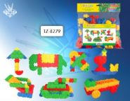 Конструктор TZ8279 100 деталей пластиковый