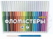 """Фломастеры 24цв """"Народная серия"""" 877067-24  (13512)"""