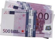 Ненастоящие деньги Пачка 500 евро  (13550)